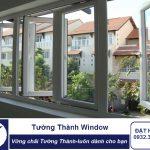 Cửa sổ mở quay 4 cánh NHỰA LÕI THÉP