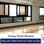 Cửa sổ mở trượt 4 cánh NHÔM XINGFA