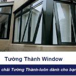 Cửa sổ mở hất 1 cánh NHÔM XINGFA